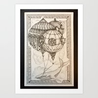 The Theory of Air #4 Art Print