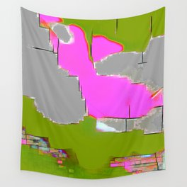 Abstract #13 in Green Wall Tapestry