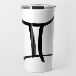 KIROVAIR ASTROLOGICAL SIGNS GEMINI #astrology #kirovair #symbol #minimalism #horoscope #zwilling #ho Travel Mug