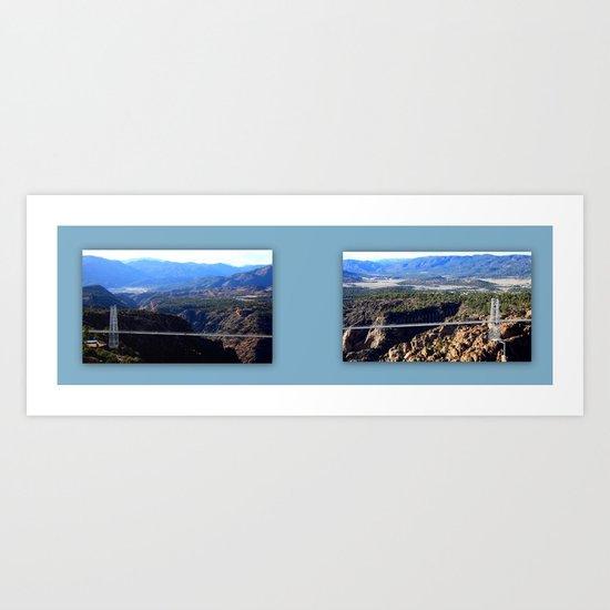 The Royal Gorge Art Print