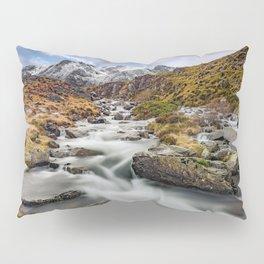 Mountain River Snowdonia Pillow Sham