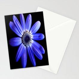 Blue gerbera Stationery Cards