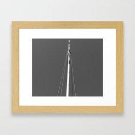 Crossing Guards Framed Art Print