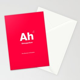 The Element of Surprise Stationery Cards