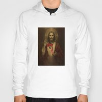 christ Hoodies featuring Christ Air by Preston Lee Design