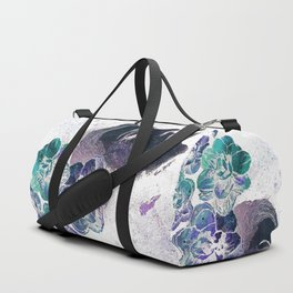 Obey Me: Negative (flower lady graffiti painting) Duffle Bag