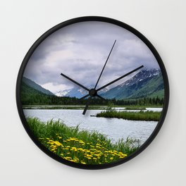 God's Country - III Wall Clock