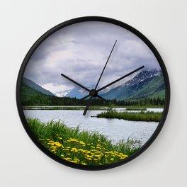 God's_Country - III Wall Clock