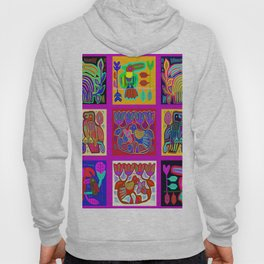Tropical Parrots Hoody