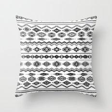 cockatoo (monochrome series) Throw Pillow