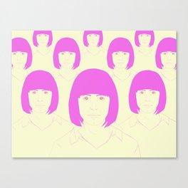 Multitud Canvas Print