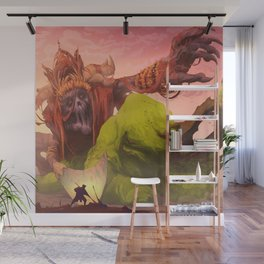Demon of Misticism Wall Mural
