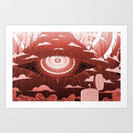 The One Eye Art Print