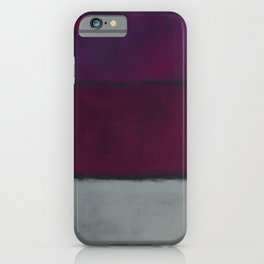 Rothko Inspired #19 iPhone Case