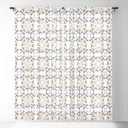 Butterfly kaleidoscope Blackout Curtain