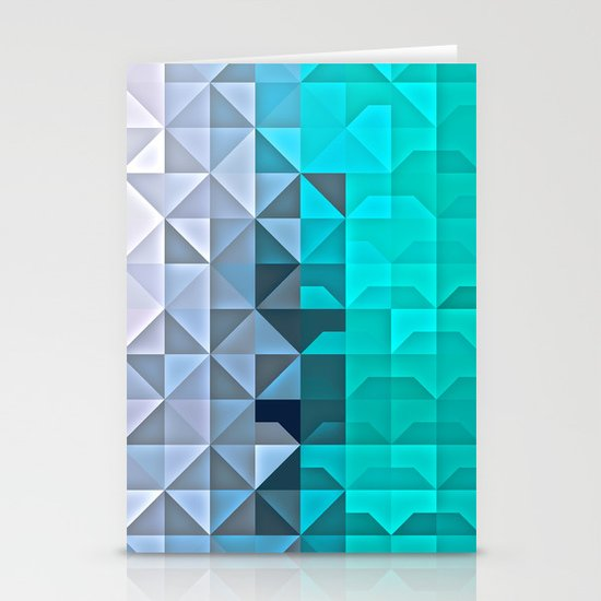 Shaded Ice Stationery Cards