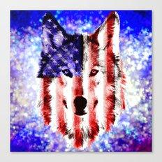wolf USA Canvas Print