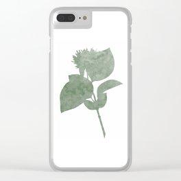 Cornus sanguinea Clear iPhone Case