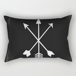 Arrow Design Rectangular Pillow
