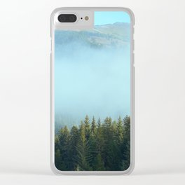 Early Morning Mist Clear iPhone Case