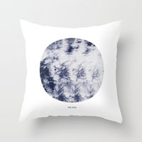 tie dye Throw Pillows featuring Tie Dye by The Mia Harper Series