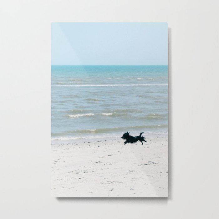 Running Free - Vertical Metal Print