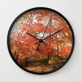 Maplewood - Fall Wall Clock