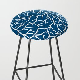 Branches - Blue Bar Stool
