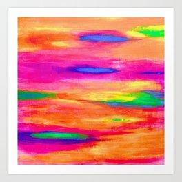 Life in Colour Art Print
