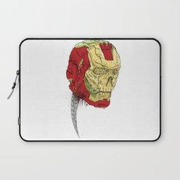 The Death of Iron Man Laptop Sleeve