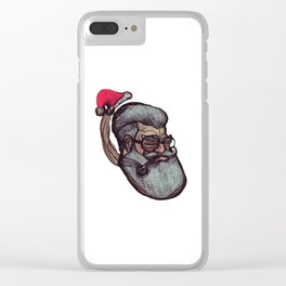 Saint Nick Clear iPhone Case