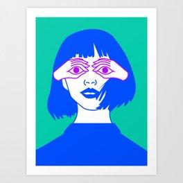 I C U Art Print