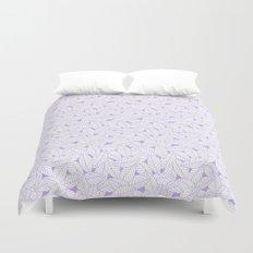 Leaves in Lavender Duvet Cover