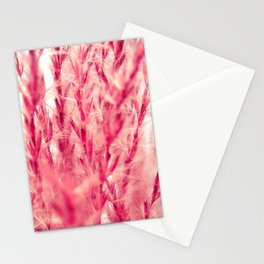 red grasses II Stationery Cards