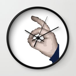 Ok Wall Clock