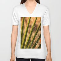 terry fan V-neck T-shirts featuring Fan by Maite Pons