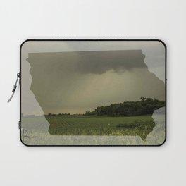 Iowa in Spring Laptop Sleeve