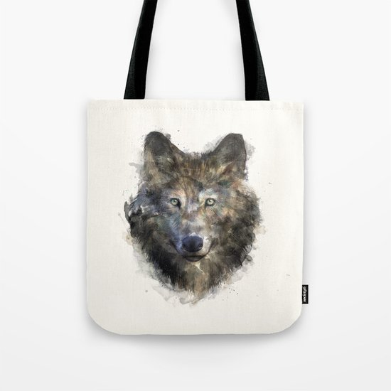 Wolf // Secure Tote Bag
