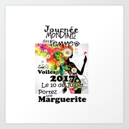 Chandail pour Promotion Femmes Sans Voiles Art Print
