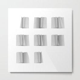 pages grid Metal Print