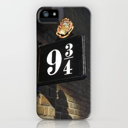 Potter 9&3/4 iPhone Case