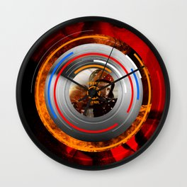 Visions of the Future :: Rollerball Wall Clock