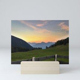 Kemater Alm Mini Art Print