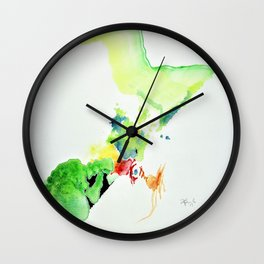 Chicken Thought Wall Clock