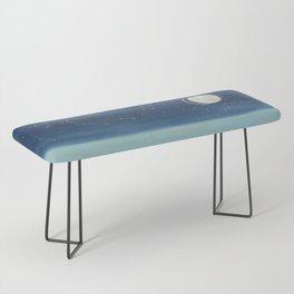 The Deep Blue Bench