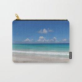 Caribbean beach Carry-All Pouch