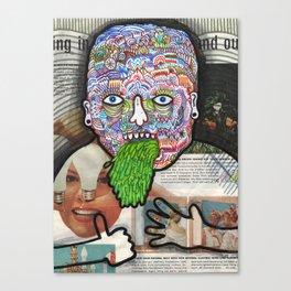 Spew. Canvas Print