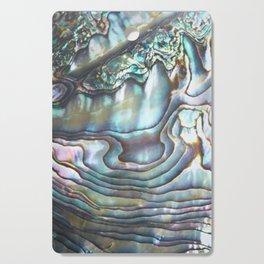 Shimmery Pastel Abalone Shell Cutting Board