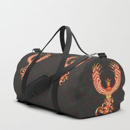 Mythical Phoenix Bird Duffle Bag