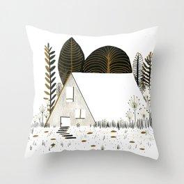 House I Throw Pillow